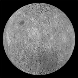 Stocktrek Images - The Far Side of the Moon.
