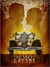 Albert Cagnef - The Great Gatsby Poster