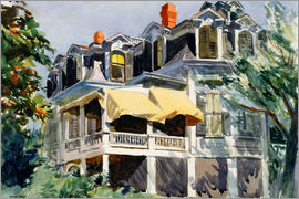 Edward Hopper - The Mansard Roof