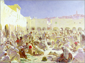 Thomas Frederick Mason Sheard - The Market Place, Ghardaia