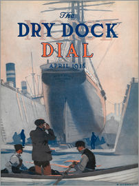 Edward Hopper - The Mary Stone of Portland, front cover of the 'Morse Dry Dock Dial'