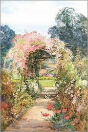 Theresa Sylvester  Stannard - The pergola walk