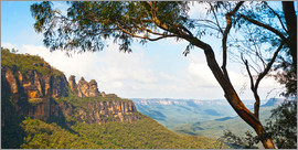 Matthew Williams-Ellis - Panoramic photo of the Three Sisters