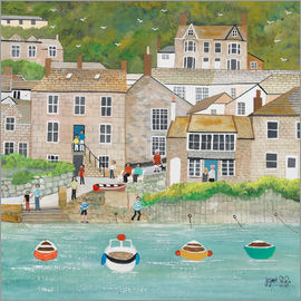 Judy Joel - The Wharf at Mousehole