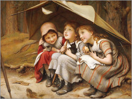 Joseph Clark - Three Little Kittens, 1883
