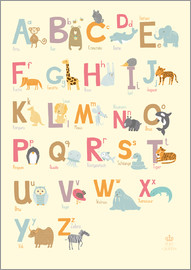 Petit Griffin - Animal Alphabet for the nursery