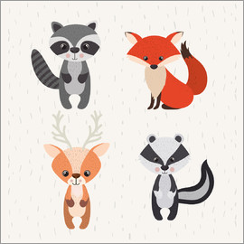 Kidz Collection - Forest animals