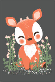 Kanzi Lue - Animal friends - The fawn