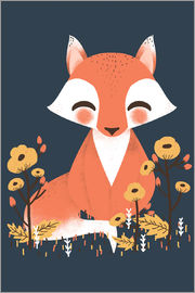 Kanzi Lue - Animal friends - The fox