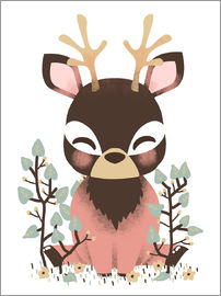 Kanzi Lue - Animal friends - The deer
