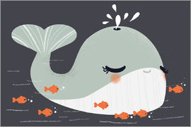 Kanzi Lue - Animal friends - The whale