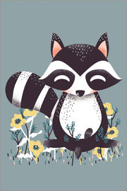 Kanzi Lue - Animal friends - The raccoon