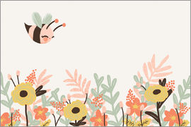 Kanzi Lue - Animal friends - The bee