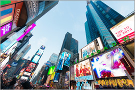 Times Square - most popular spot in New York