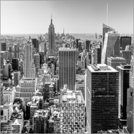 newfrontiers photography - Top Of The Rock - New York City (monochrome)
