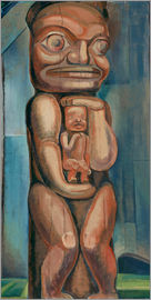 Emily Carr - Totem Mother, Kitwancool