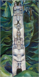 Emily Carr - Totem and Forest