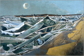 Paul Nash - Dead Sea