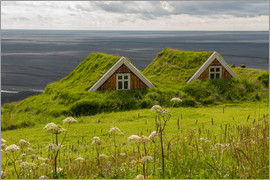 Markus Ulrich - Traditional Houses in the Skaftafell National Park, Iceland