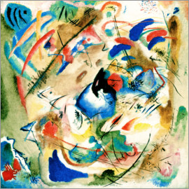 Wassily Kandinsky - Dreamy Improvisation / 1913