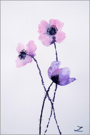 Zaira Dzhaubaeva - Translucent Poppies