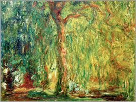 Claude Monet - Weeping willow