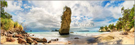 Michael Rucker - Dream beach - Cathedral Cove Beach - New Zealand