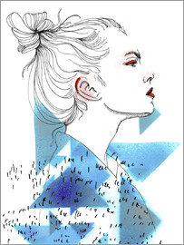 PS Illustrationen - Triangle Fashionportrait
