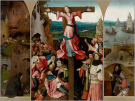 Hieronymus Bosch - Triptych with the crucified martyr