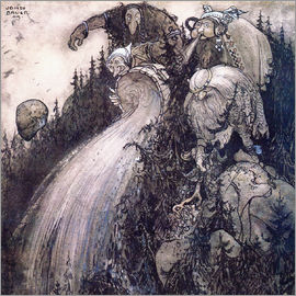 John Bauer - Troll of the forest