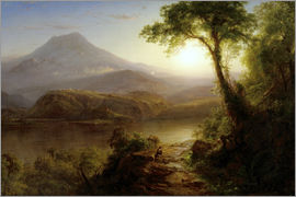 Frederic Edwin Church - Tropical Scenery
