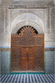 Douglas Pearson - Door of the Medersa Bou Inania, Fes