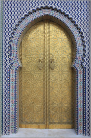 Vincenzo Lombardo - Royal Palace Gates, Fez