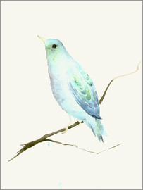 Dearpumpernickel - Turquoise Blue Bird