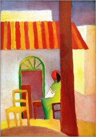 August Macke - Turkish Cafe I