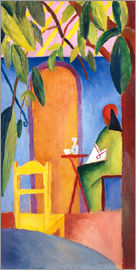 August Macke - Turkish Café II