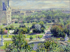 Claude Monet - Tuileries Garden, Paris