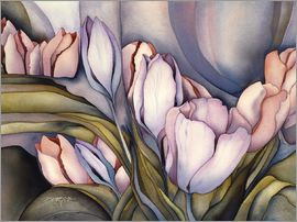 Jody Bergsma - River of tulips