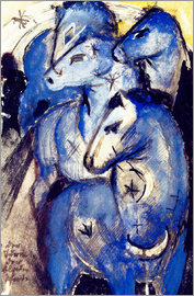 Franz Marc - Tower Blue Horse