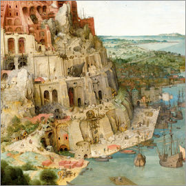 Pieter Brueghel d.Ä. - Tower of Babel (detail)