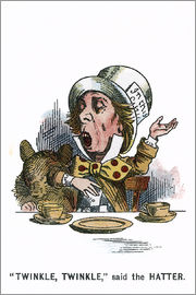 John Tenniel - Twinkle, Twinkle, said the Hatter