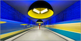 Dieter Meyrl - Subway station in Munich