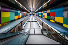 MUXPIX - Subway Munich - Georg-Brauchle-Ring 2