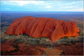 I. Schulz - Uluru (Ayers Rock) at sunset