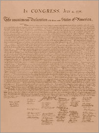 John Parrot - United States Declaration of Independence