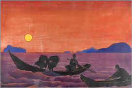 Nicholas Roerich - And we continue to fish