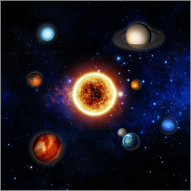 Our sun and planets