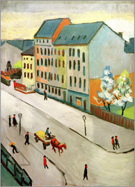 August Macke - Our Street in Grey