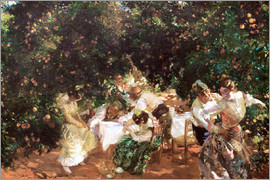 Joaquin Sorolla y Bastida - Under orange trees
