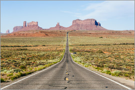 Matteo Colombo - US route 163 leading to Monument Valley, Arizona, USA